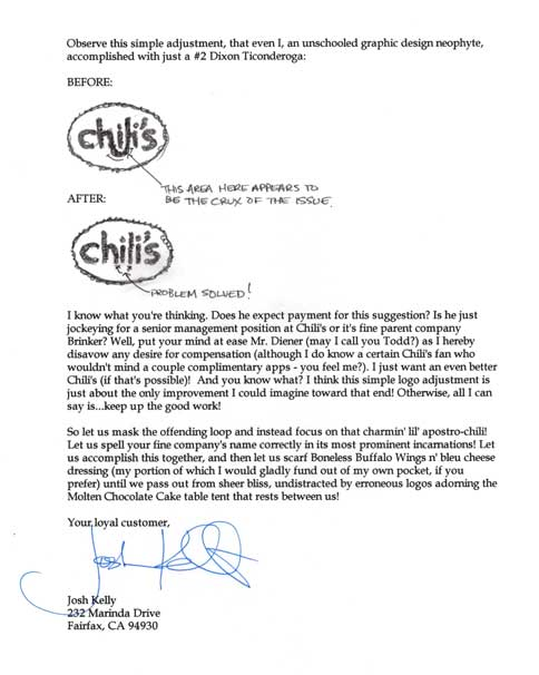Chili's Letter - Page 2