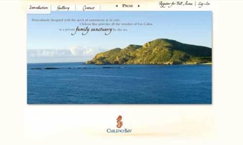 Chileno Bay Website 1