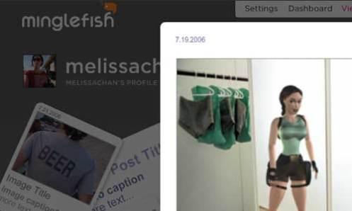 Minglefish Screen